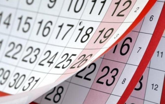 Martda 15 qeyri-iş günü olacaq