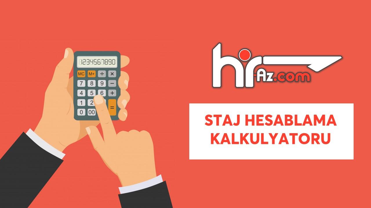 Iscinin Is Stajinin Hesablanmasi Kalkulyatoru Staj Kalkulyatoru Hr Azərbaycan Azərbaycanin Ilk Insan Resurslari Portali